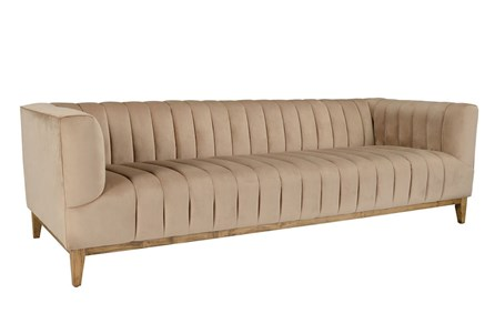 Champagne Channeled Sofa