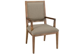 Beige Dining Arm Chair