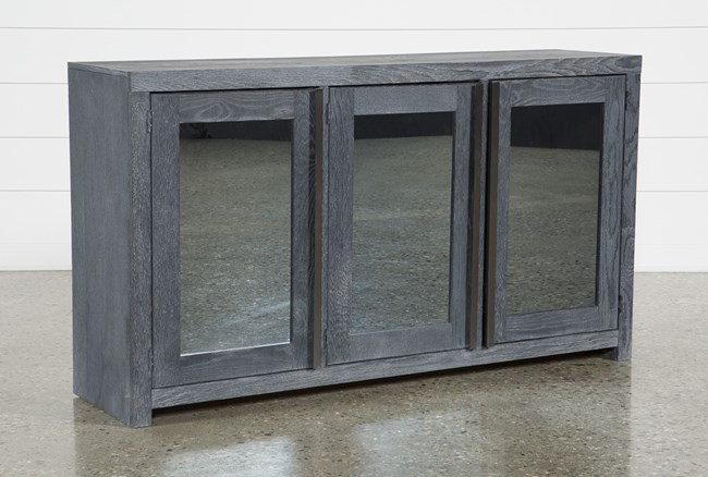 Edwin Black 64 Inch Tv Stand Living Spaces