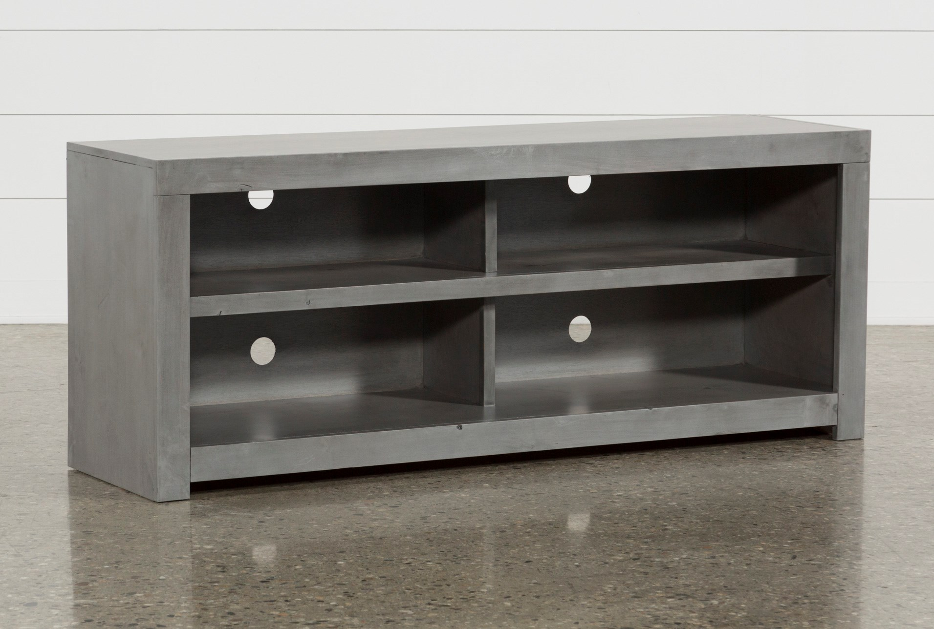 Kilian Grey 60 Inch Tv Stand Living Spaces