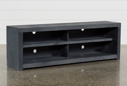 Kilian Black 74 Inch TV Stand