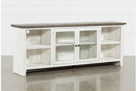 Dixon White 84 Inch TV Stand - Main