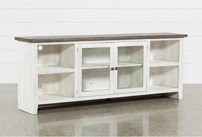 Dixon White 84 Inch TV Stand - 360