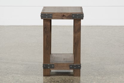Grahm Chairside End Table Living Spaces