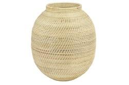 17 Inch Rattan Vase
