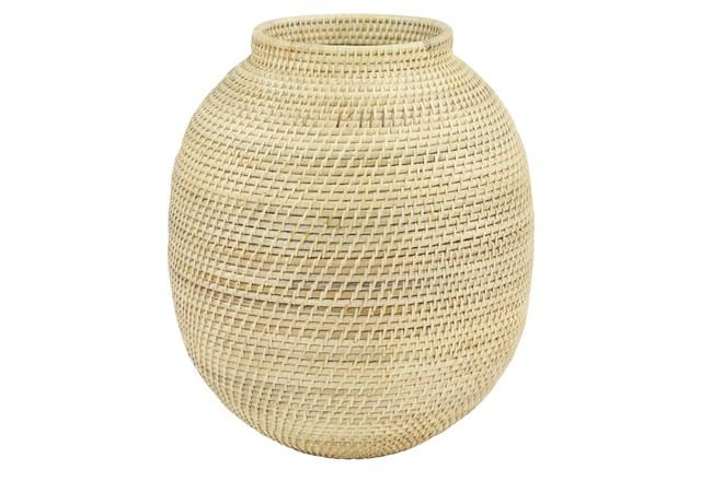 17 Inch Rattan Vase  - 360