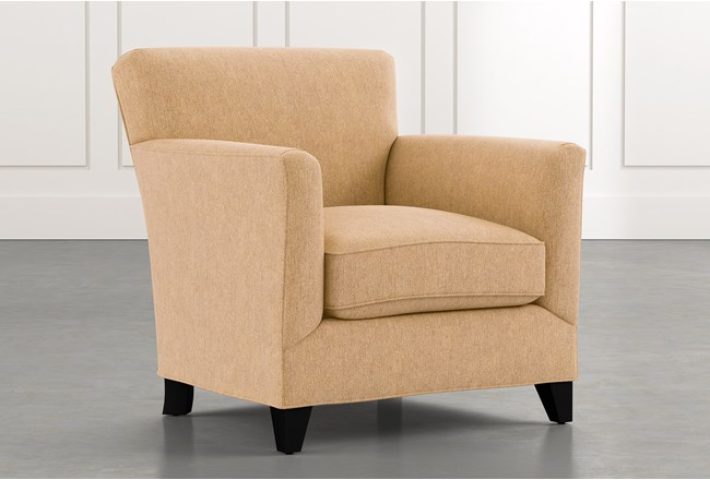 Dexter II Gold Accent Chair - 360