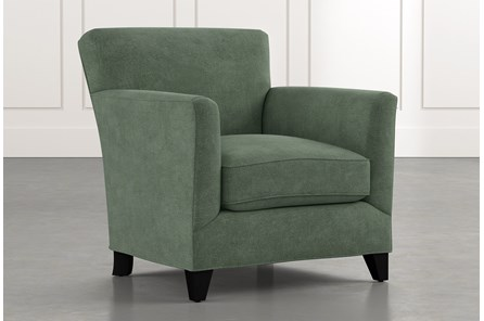 Dexter II Green Accent Chair