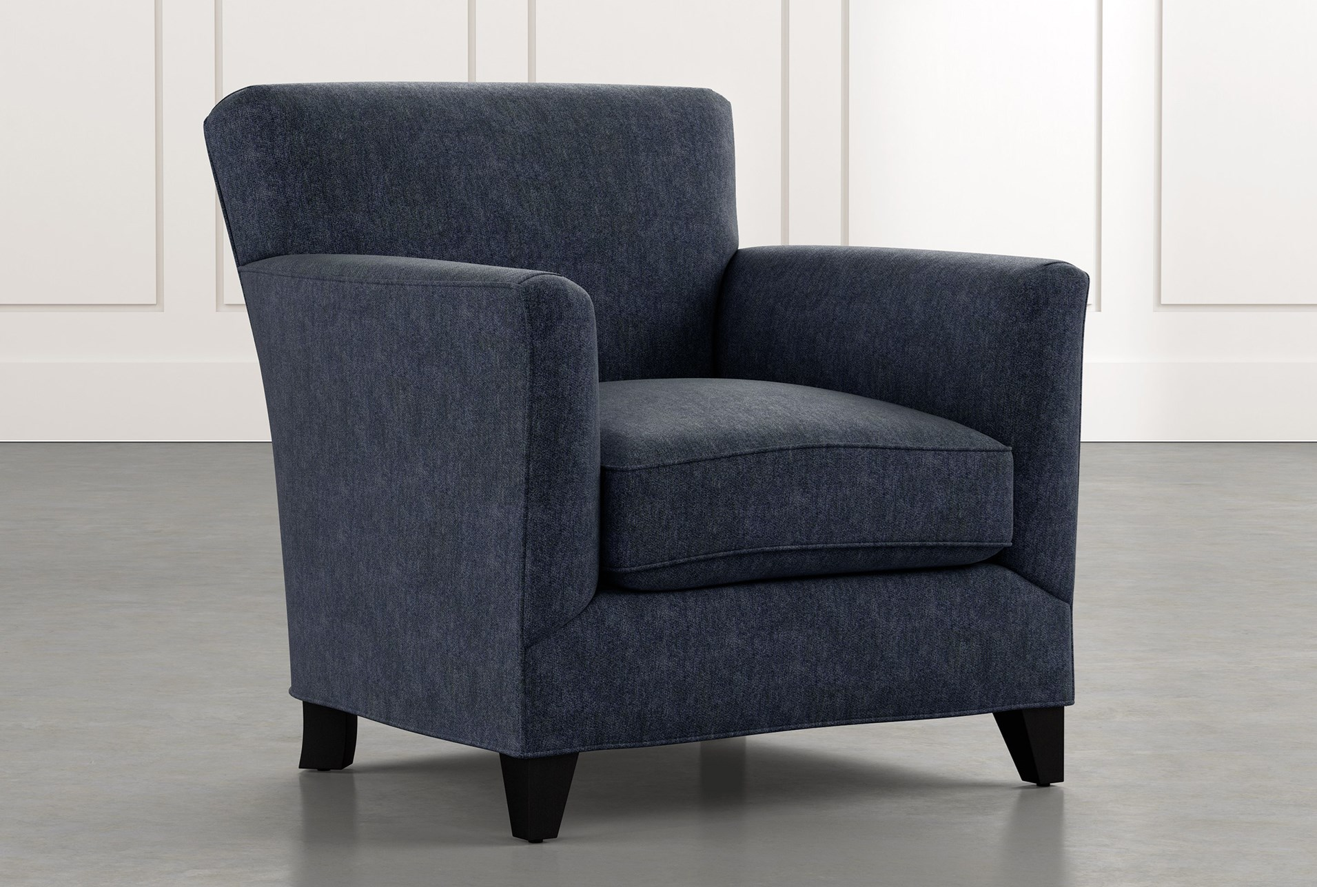 Dexter II Navy Blue Accent Chair | Living Spaces