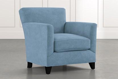 Dexter II Light Blue Accent Chair