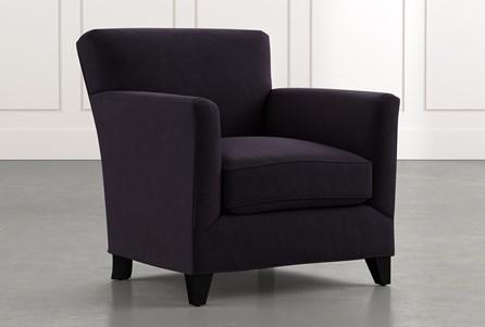 Dexter II Black Accent Chair