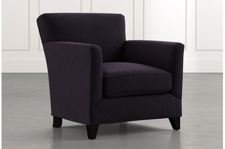 Dexter II Black Accent Chair