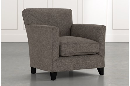 Dexter II Dark Grey Accent Chair