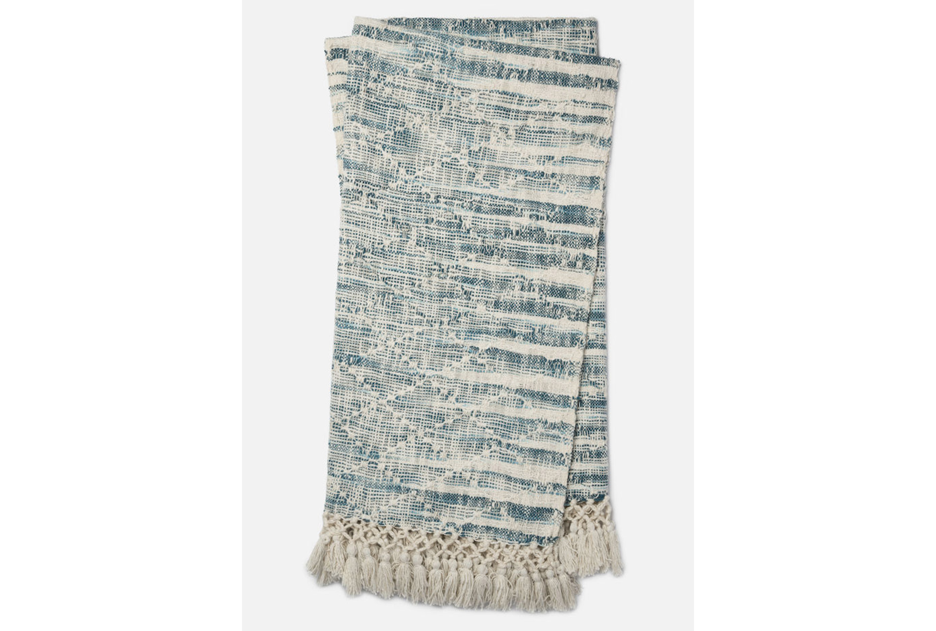 Accent Throw-Magnolia Home Ombre Diamond Blue By Joanna Gaines