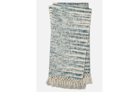 Accent Throw-Magnolia Home Ombre Diamond Blue By Joanna Gaines - Main