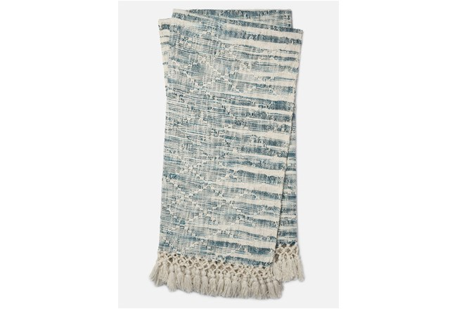 Accent Throw-Magnolia Home Ombre Diamond Blue By Joanna Gaines - 360
