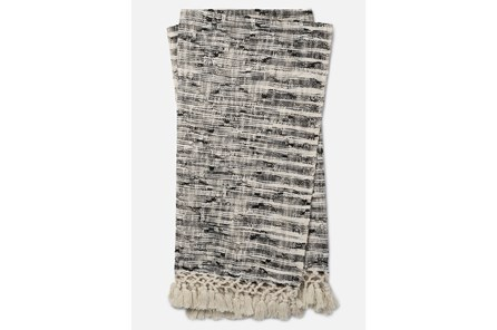 Accent Throw-Magnolia Home Ombre Diamond Black By Joanna Gaines - Main