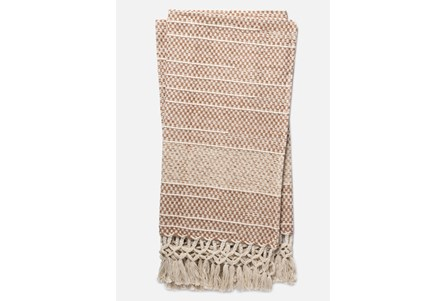Accent Throw-Magnolia Home Braided Fringe Blush By Joanna Gaines