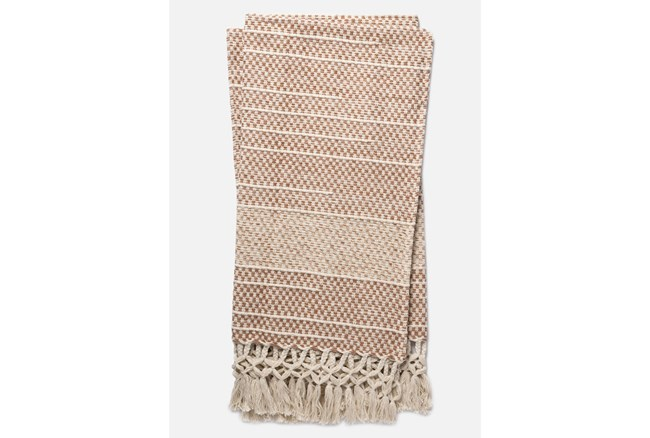 Accent Throw-Magnolia Home Braided Fringe Blush By Joanna Gaines - 360