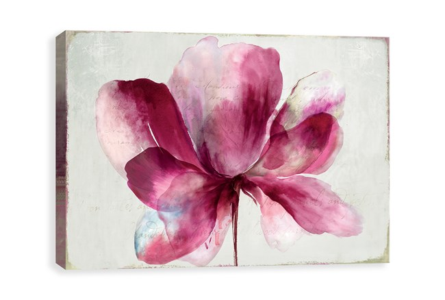 Picture-Aubergine Bloom 35X23 - 360