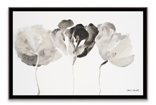 Picture-Trio Of Flowers 36X24 - 360