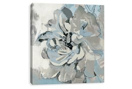 Picture-Blue And Grey Bloom 27X27