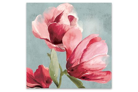 Picture-Sweet Pea 27X27