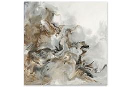 Picture-Grey Swirl On Aluminum 30X30