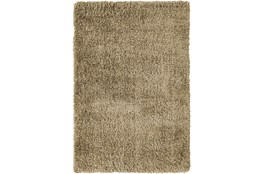 63X90 Rug-Feather Shag Caramel