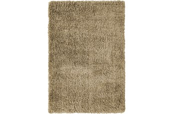 94X126 Rug-Feather Shag Caramel