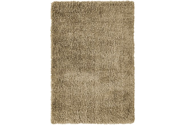 94X126 Rug-Feather Shag Caramel - 360