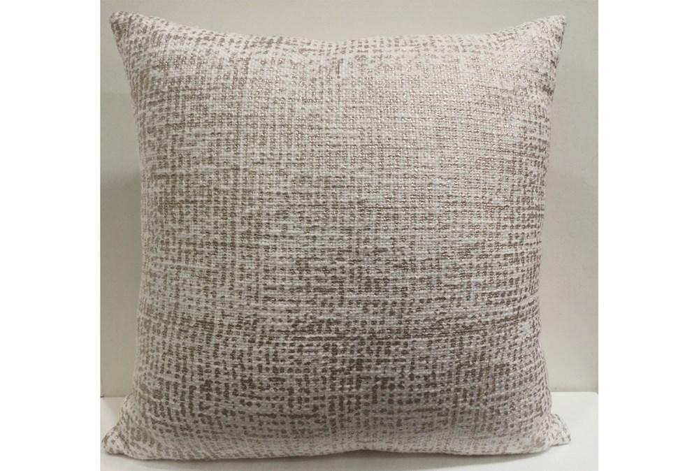 Accent Pillow-Rose Gold Metallic Overlay 18X18
