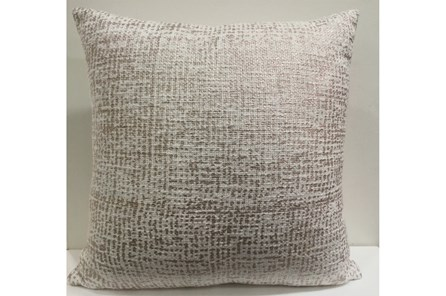 Accent Pillow-Rose Gold Metallic Overlay 18X18