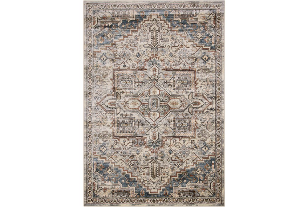 63X90 Rug-Grace Grey Traditional