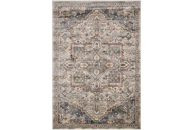 63X90 Rug-Grace Grey Traditional - 360