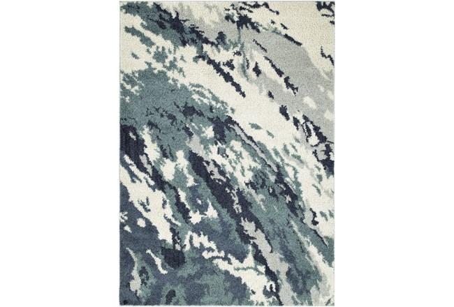 61X89 Rug-Galaxy Swirl Denim - 360