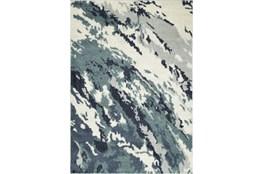 96X120 Rug-Galaxy Swirl Denim