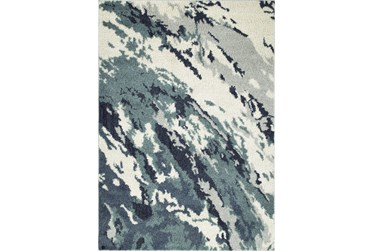 8'x10' Rug-Galaxy Swirl Denim
