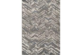 8'x10' Rug-Vintage Herringbone Grey/Slate
