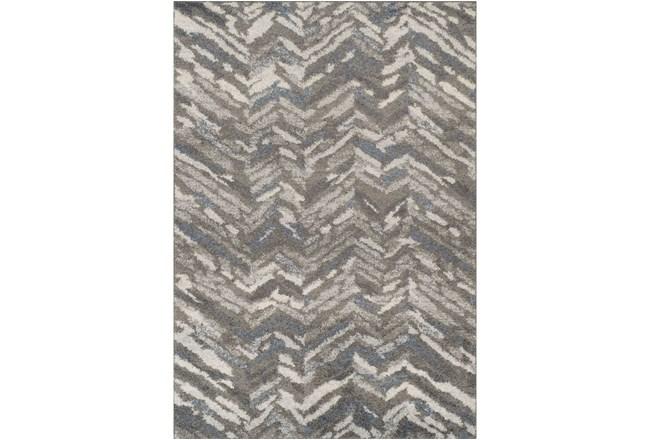 96X120 Rug-Vintage Herringbone Grey/Slate - 360