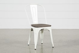 Delta White Side Chair