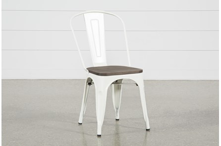 Delta White Dining Side Chair - Main