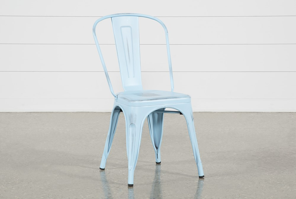 Delta Blue Side Chair