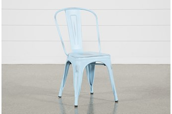 Delta Blue Dining Side Chair