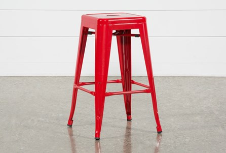 Radical Red 26 Inch Counterstool