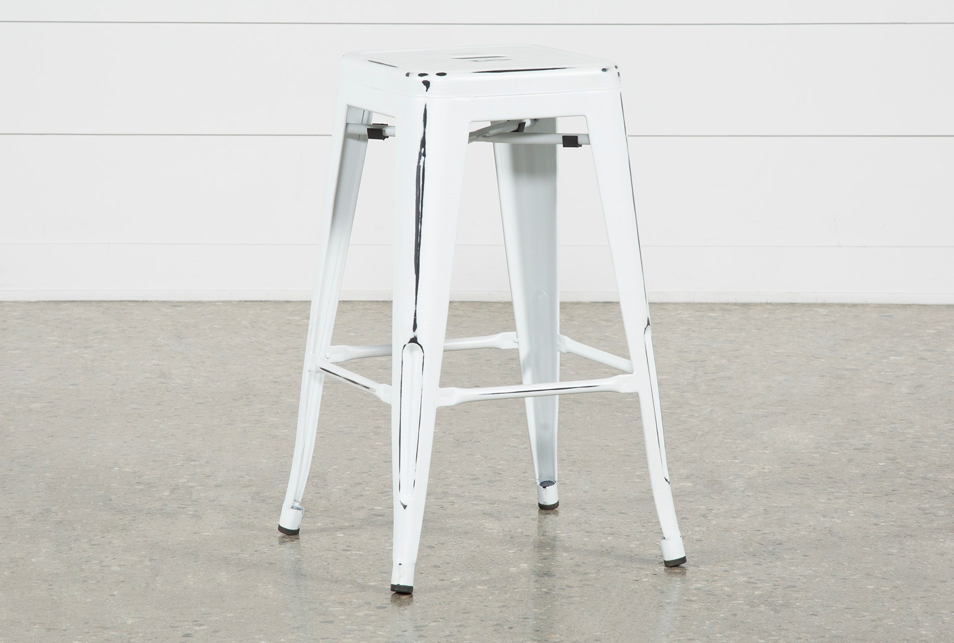 Incredible Radical White 26 Inch Counter Stool Pabps2019 Chair Design Images Pabps2019Com