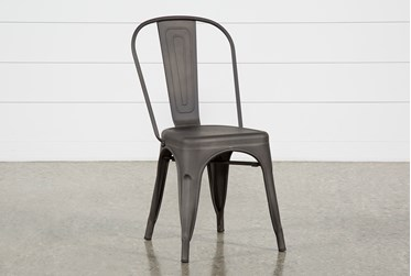 Delta Bronze Dining Side Chair