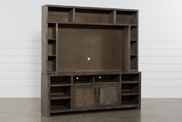 Ducar 2 Piece 84 Inch Wall Entertainment Center