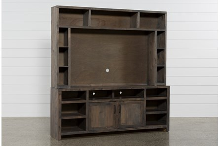 Ducar 2 Piece 84 Inch Wall Entertainment Center - Main