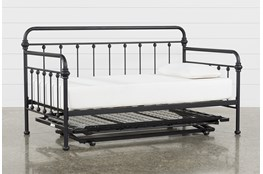 Knox Metal Daybed With Revive Pop-Up Trundle